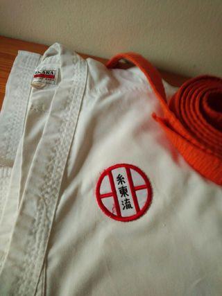 kimono kárate pantalones 96 centímetros