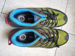 zapatillas mtb Shimano SPD 43/44+calas