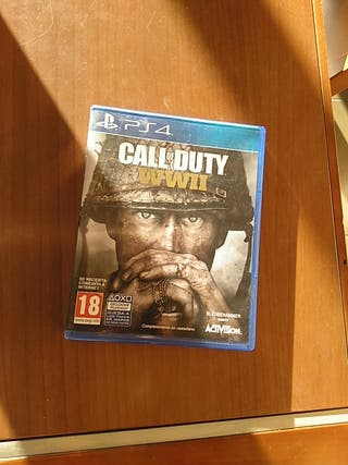 juego Call of Duty WWII PS 4