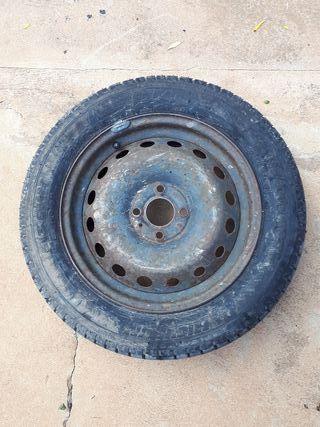 Neumático con llanta, rueda