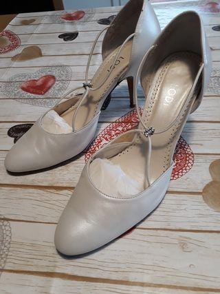 Zapatos boda lodi