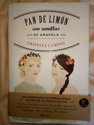 libro Pan de Limon con semillas de Amapola