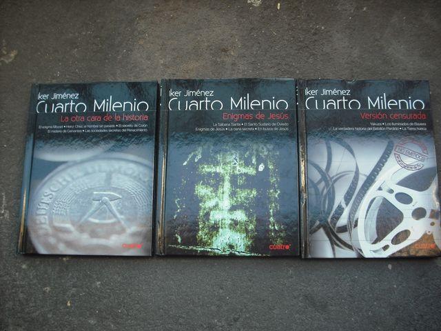 TRES LIBROS /DVD DE CUARTO MILENIO de segunda mano por 5 € en ...