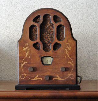 Reproducción radio antigua