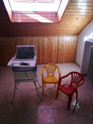Trona bebe y sillitas