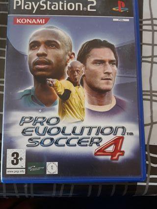 Pro Evolution Soccer 4 para PlayStation 2