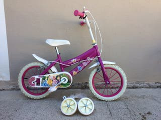 "Bici disney princesas 14"""
