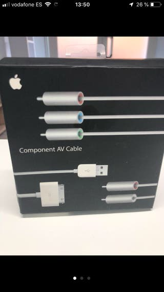 Apple Tv component Av cable Iphone/Ipaf
