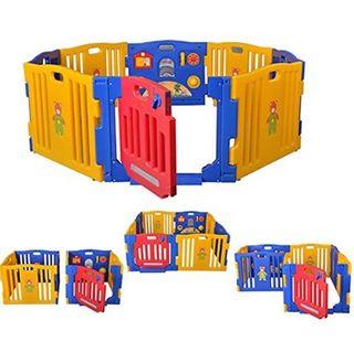 Star Ibaby Play Twin - Parque de Bebe 8 piezas