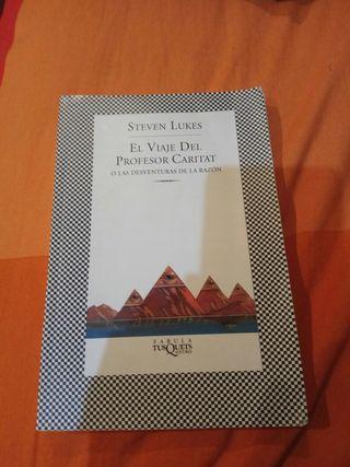 Libro El Viaje Del Profesor Caritat