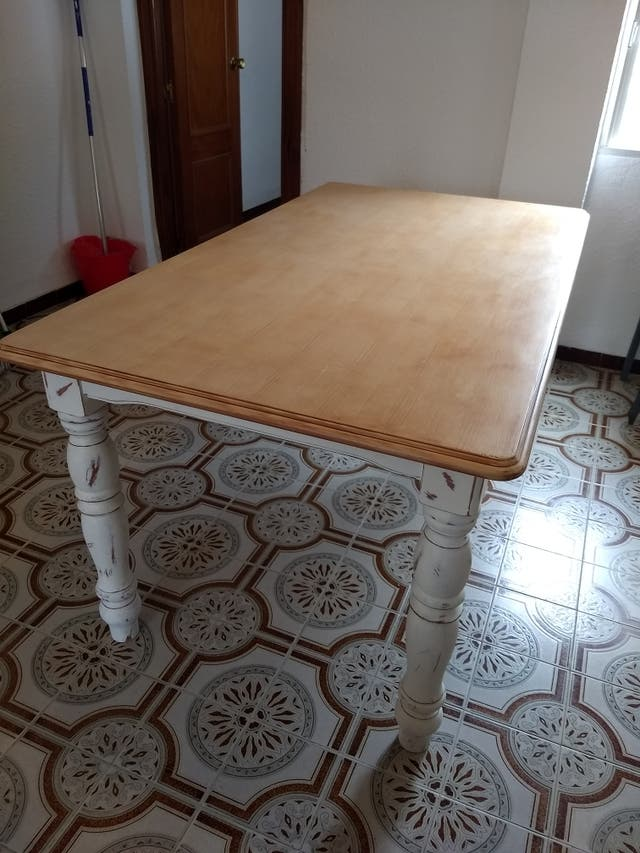 Mesa Comedor Restaurada de segunda mano por 199 € en Burjassot en ...