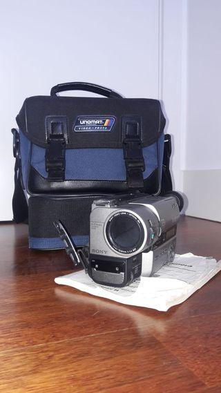 Cámara de video vintage Sony Hi8 XR