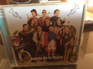 CD LA BANDA DE MARÍA en la calle