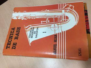 Técnica de base . Escuela moderna de saxofon 1