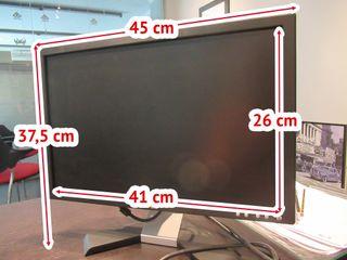 """Monitor Pantalla Plana 17"""" LCD / TFT DELL"""