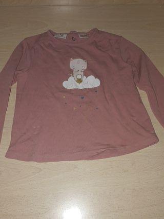 camiseta zara talla de12 a 18 meses