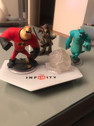 Para Nintendo 3DS plataforma infinity y figuras