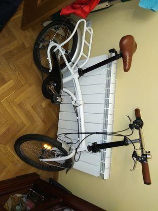 bicicleta de paseo btwin