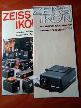 Proyector Diapositivas Ikon Zeiss Perkeo Compact