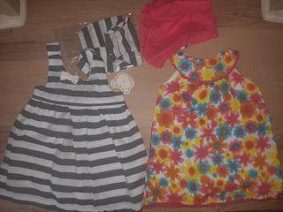 Vestidos verano bebé 9 - 12 meses marca Losan