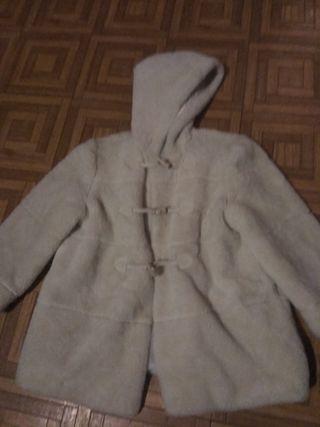 abrigo de pelo el corte ingles talla 8