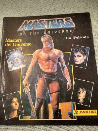 Album de cromos masters del universo
