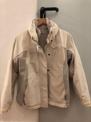 Abrigo Columbia blanco