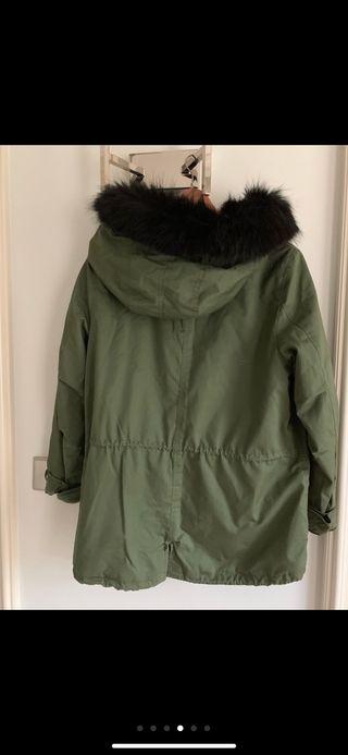 Abrigo Mujer de Zara Talla 38