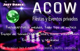 DJ para Fiestas y Eventos Privados