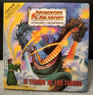 Libro Dragones y mazmorras