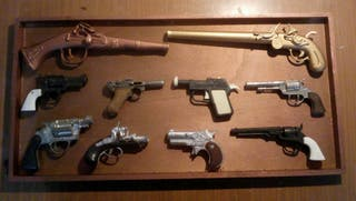 pistolas antiguas de juguete