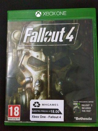 Juego Xbox One Fallout 4
