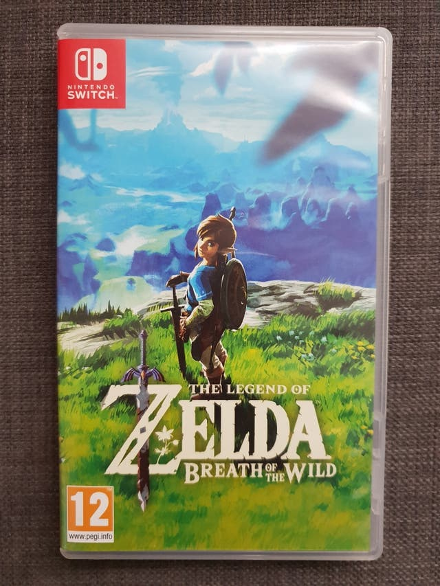 Juego Zelda Breath Of The Wild Nintendo Switch De Segunda Mano Por
