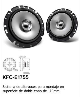 altavoces kenwood kfc-e1755