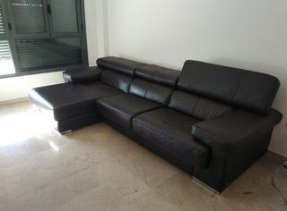 sofa piel nuevo