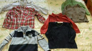 lote ropa invierno niño 2 años