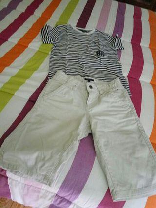 pantalon corto de niñoTonmy Hilfiger