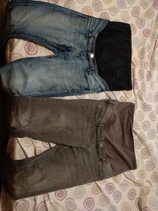 191d23bde De Premama 20 Pantalones Wallapop En Mislata Segunda Mano Hm Por € qUdd5