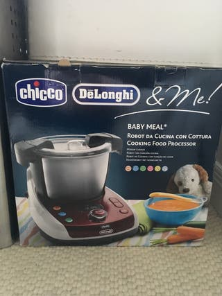 Baby Meal Chicco and Delonghi