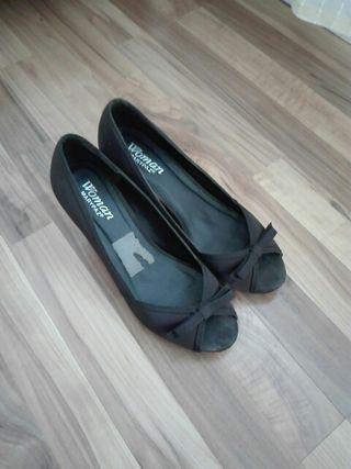 zapatos de fiesta negro numero 39