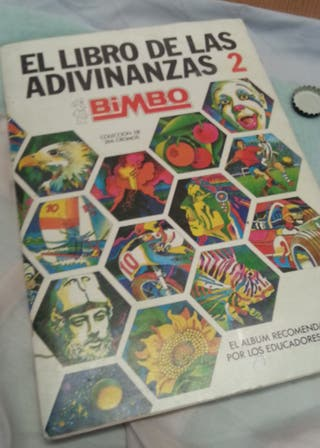 Álbum de cromos EL LIBRO DE LAS ADIVINANZAS 2.
