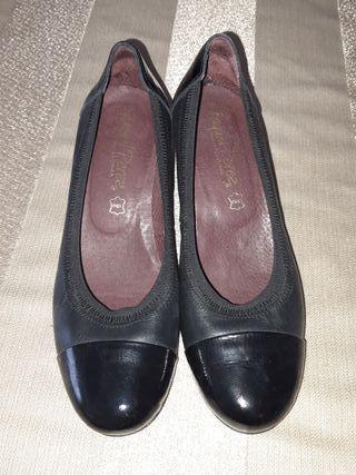 """zapatos mujer piel 38 """"Raquel Perez"""""""