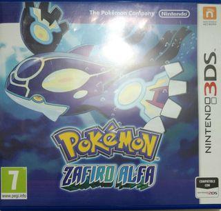 Juego 3DS - Pokemon Zafiro Alfa