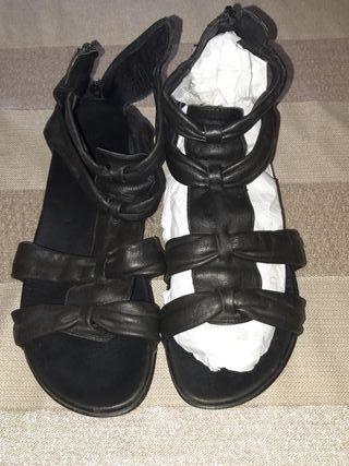 sandalia estilo romano 38