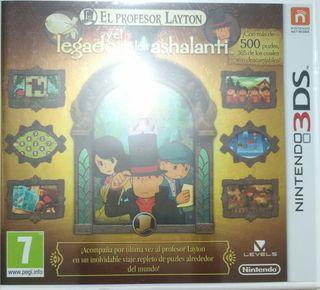 Juego 3DS - Layton y el Legado de los Ashalanti