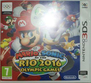 Juego 3DS - Mario & Sonic en los JJ.OO de RIO 2016