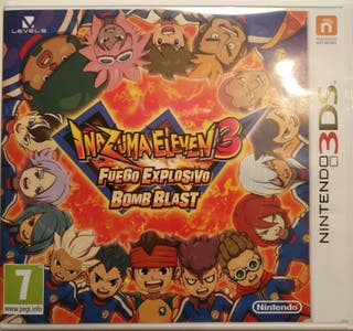 Juego 3DS - Inazuma Eleven 3 Fuego Explosivo