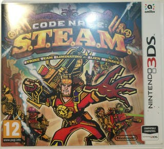 Juego 3DS - Code Name S.T.E.A.M