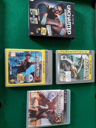 Juegos Uncharted PS3