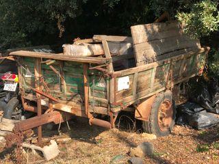 Remolc agrícola tractor